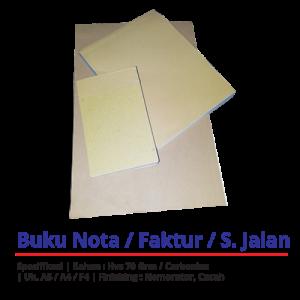Cetak Nota Online