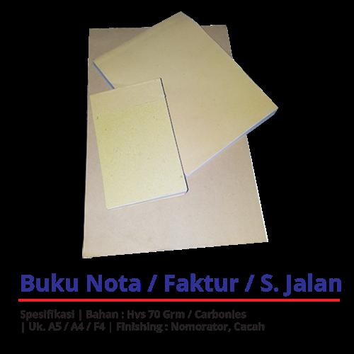 Cetak Nota Online 081219788699/WA
